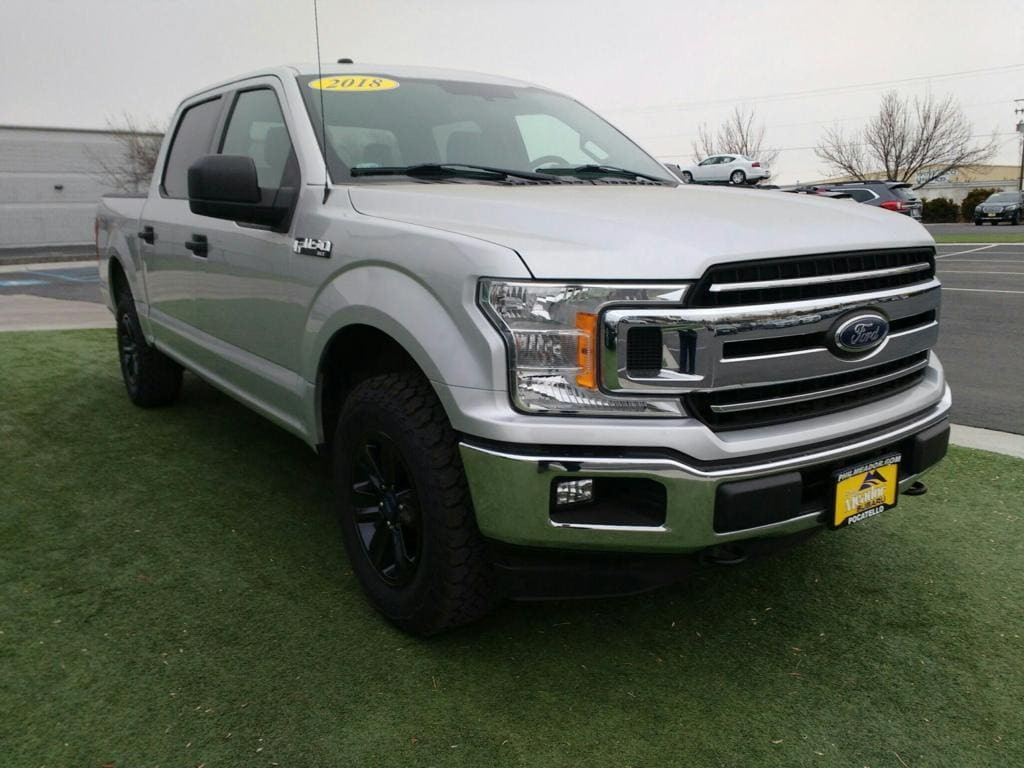 Featured used 2018 Ford F-150 XLT Cab; Styleside; Super Crew 1FTEW1EG3JKE81013 for sale in Pocatello, ID