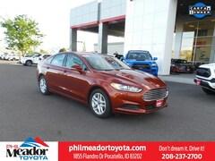 Bargain Used 2014 Ford Fusion SE Sdn FWD 3FA6P0HD3ER255543 in Pocatello, ID