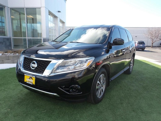 Used 2014 Nissan Pathfinder S Wagon 5N1AR2MM9EC618082 for sale in Pocatello, IL