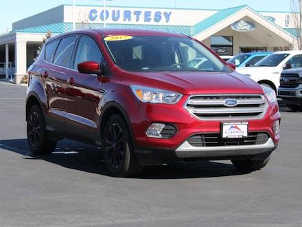 Featured used 2017 Ford Escape SE Wagon 1FMCU9GD3HUA82059 for sale in Pocatello, ID