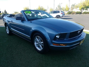 2007 Ford Mustang Base Convertible 1ZVFT84N175206265