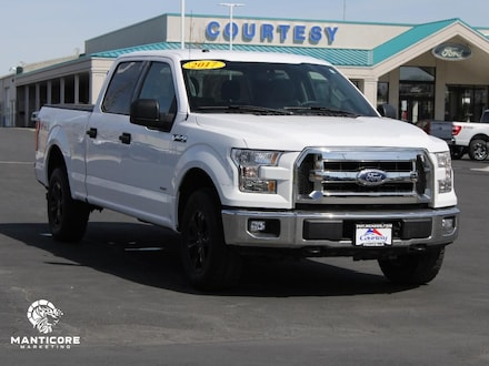 Featured used 2017 Ford F-150 XLT 3.5L Ecoboost Cab; Styleside; Super Crew 1FTFW1EG0HKD03705 for sale in Pocatello, ID
