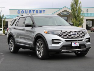 2020 Ford Explorer Platinum Wagon