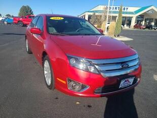 2012 Ford Fusion Hybrid Hybrid Sedan 3FADP0L32CR163116