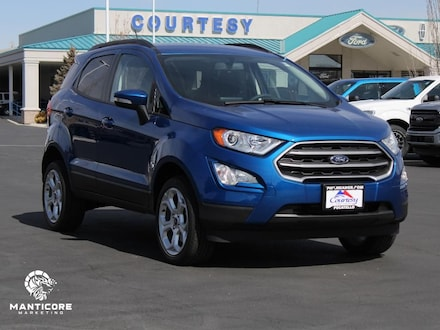 Featured new 2021 Ford EcoSport SE Wagon for sale in Pocatello, ID