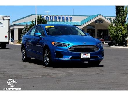 Featured used 2019 Ford Fusion SEL Sedan 3FA6P0CD9KR284077 for sale in Pocatello, ID