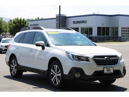 Featured used 2018 Subaru Outback Limited Wagon 4S4BSANCXJ3281957 for sale in Pocatello, ID