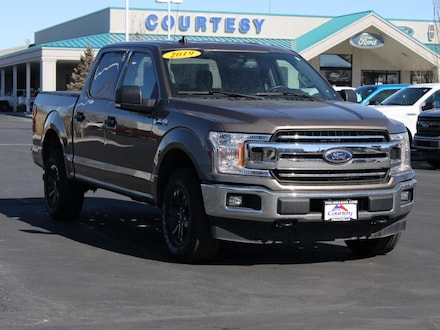 Featured used 2019 Ford F-150 XLT 3.5L Ecoboost Cab; Styleside; Super Crew 1FTEW1E40KKD74587 for sale in Pocatello, ID