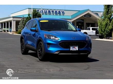 Featured used 2020 Ford Escape SE Wagon 1FMCU9G64LUB30906 for sale in Pocatello, ID