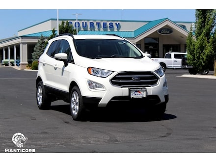 Featured new 2020 Ford EcoSport SE Wagon for sale in Pocatello, ID