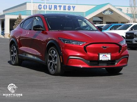 Featured new 2021 Ford Mustang Mach-E Premium Wagon for sale in Pocatello, ID