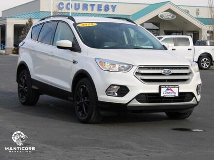 Featured used 2018 Ford Escape SE Wagon 1FMCU9GDXJUA55544 for sale in Pocatello, ID