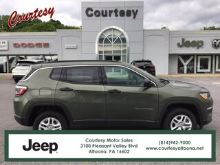 New 2020 Jeep Compass SPORT 4X4 Sport Utility in Altoona, PA
