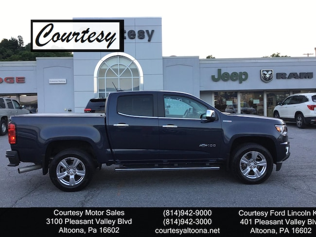Used 2018 Chevrolet Colorado 4WD Z71 Truck For Sale Altoona, PA
