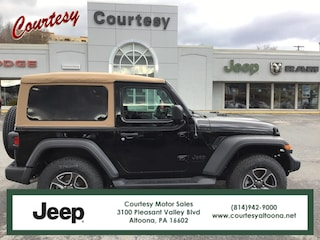 New 2020 Jeep Wrangler BLACK AND TAN 4X4 Sport Utility in Altoona, PA
