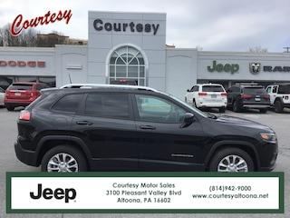 New 2020 Jeep Cherokee LATITUDE FWD Sport Utility in Altoona, PA