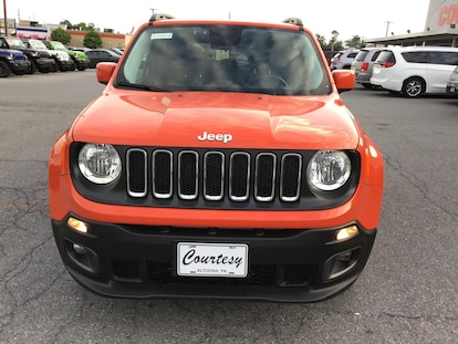 Used 2016 Jeep Renegade Latitude For Sale | Altoona PA VIN#  ZACCJBBW1GPD15479