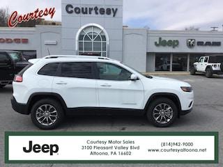 New 2020 Jeep Cherokee LATITUDE PLUS 4X4 Sport Utility in Altoona, PA