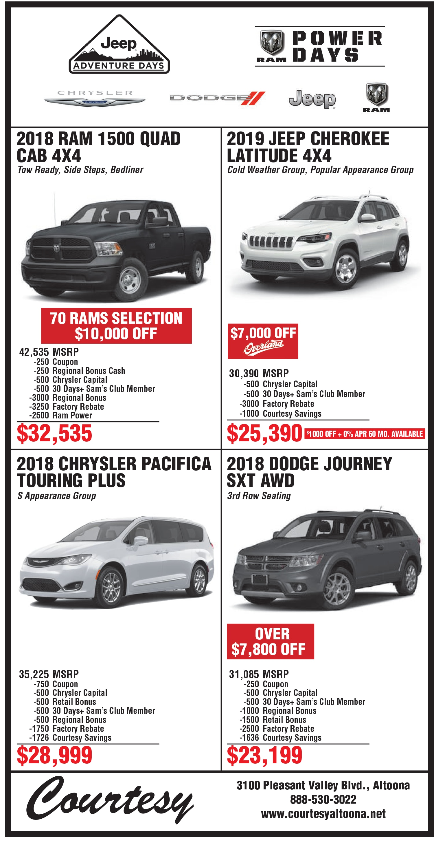 Good Chrysler Dodge Jeep Ram Newspaper Ads