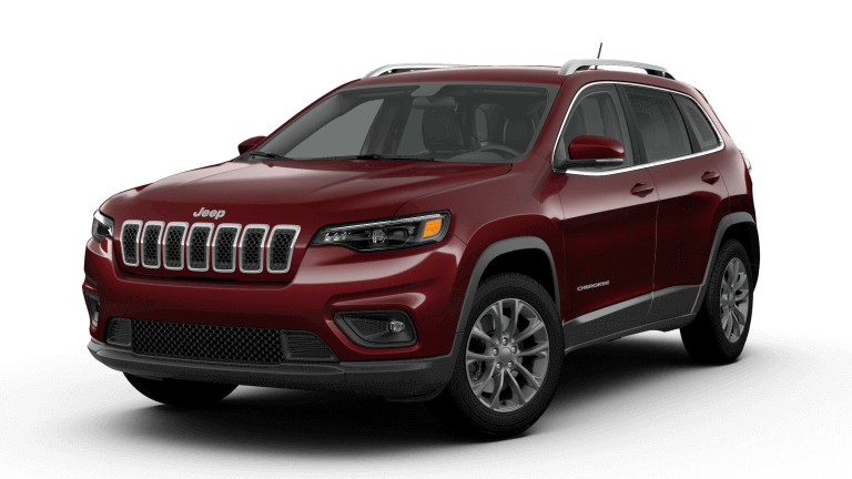 2019 Jeep Cherokee Latitude Plus - Velvet Red