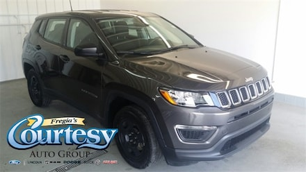 Featured used 2019 Jeep Compass Sport FWD SUV for sale in Danville, IL