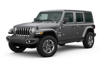 New 2020 Jeep Wrangler UNLIMITED SAHARA 4X4 Sport Utility in Danville, IL