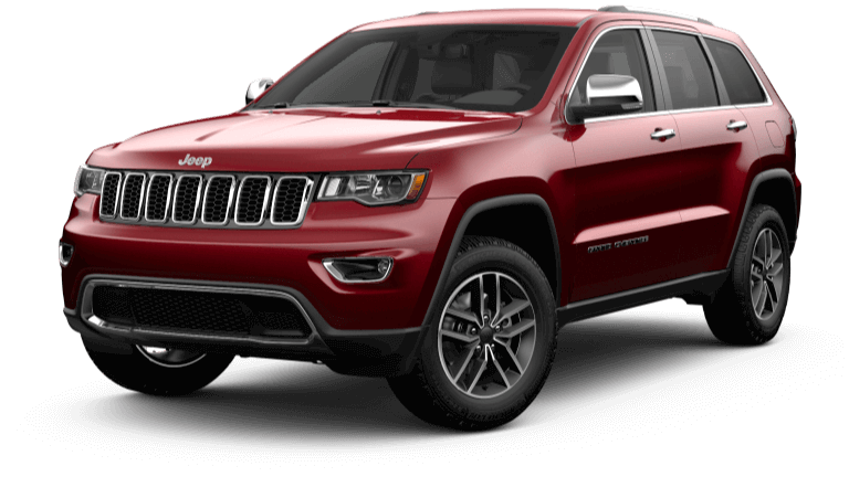 2019 Jeep Grand Cherokee Limited - Velvet Red