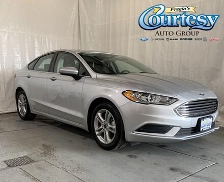 Featured used 2018 Ford Fusion SE Sedan for sale in Danville, IL