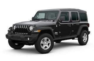 New 2020 Jeep Wrangler UNLIMITED SPORT S 4X4 Sport Utility in Danville, IL