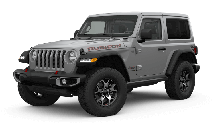 2019 Jeep Wrangler Rubicon - Sting Grey