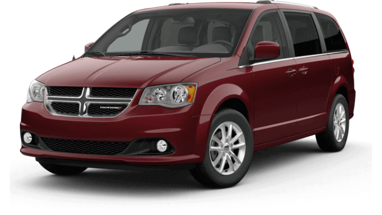 2020 Dodge Grand Caravan SXT - Octane Red