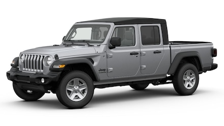 Featured new 2020 Jeep Gladiator SPORT S 4X4 Crew Cab for sale in Danville, IL