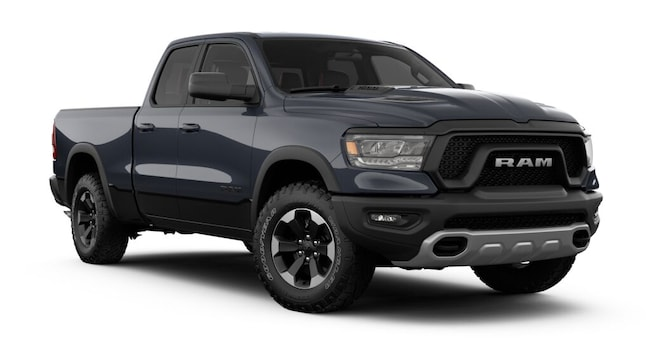 New 2019 Ram 1500 REBEL QUAD CAB 4X4 6'4 BOX Quad Cab for sale in Danville, IL