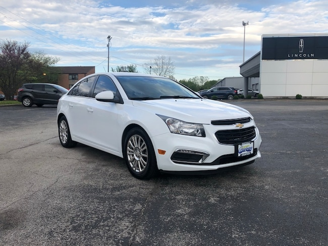 Used 2015 Chevrolet Cruze ECO Auto Sedan for sale in Danville, IL