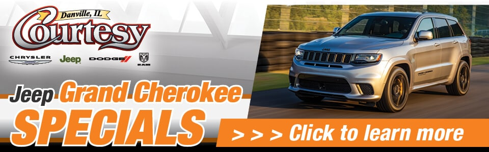2019 Jeep Grand Cherokee Specials Banner