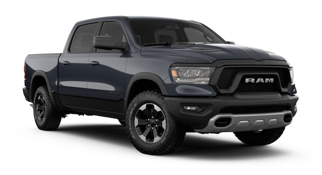New 2019 Ram 1500 REBEL CREW CAB 4X4 5'7 BOX Crew Cab for sale in Danville, IL
