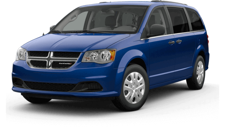 2019 Dodge Grand Caravan SE - Indigo Blue