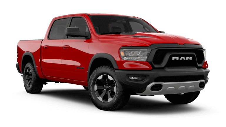 2019 Ram 1500 Rebel - Flame Red