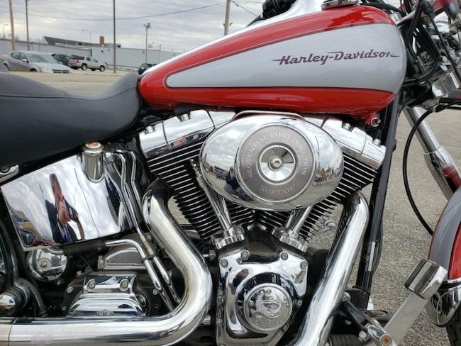 Harley Davidson Used >> Used 2002 Harley Davidson Softail For Sale In Danville Il Near