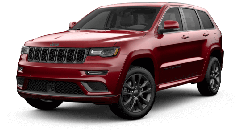 2020 Jeep Grand Cherokee High Altitude - Velvet Red