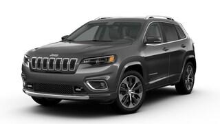New 2019 Jeep Cherokee OVERLAND FWD Sport Utility in Danville, IL