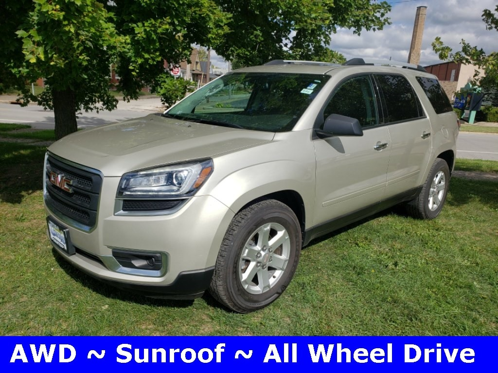 Featured used 2016 GMC Acadia SLE-2 SUV for sale in Danville, IL