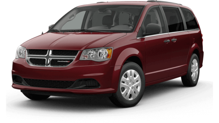 2019 Dodge Grand Caravan SE - Octane Red
