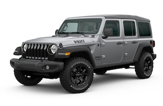 New 2020 Jeep Wrangler UNLIMITED WILLYS 4X4 Sport Utility in Danville, IL