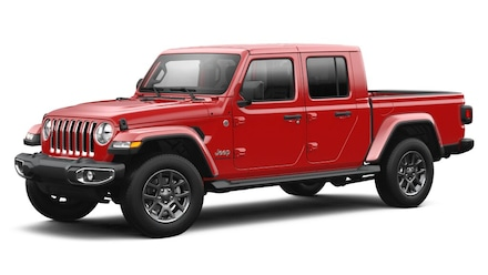 Featured new 2021 Jeep Gladiator OVERLAND 4X4 Crew Cab for sale in Danville, IL