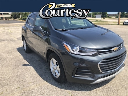 Featured used 2017 Chevrolet Trax LT SUV for sale in Danville, IL