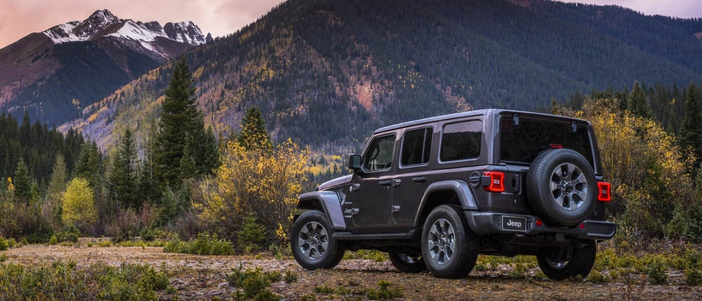 2020 Jeep Wrangler driving
