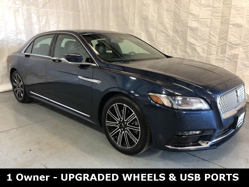 Featured used 2017 Lincoln Continental Reserve Sedan for sale in Danville, IL