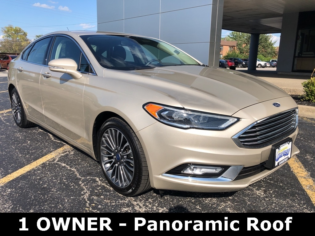 Featured used 2017 Ford Fusion Sedan for sale in Danville, IL