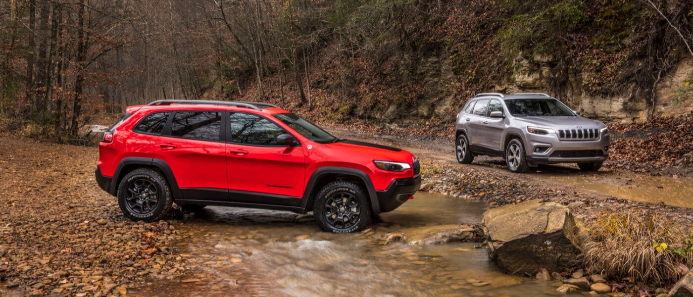 2020 Jeep Cherokee parked